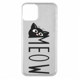 Etui na iPhone 11 Kot napis Meow