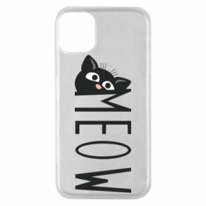 Etui na iPhone 11 Pro Kot napis Meow