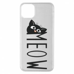 Etui na iPhone 11 Pro Max Kot napis Meow