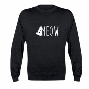 Bluza dziecięca Kot napis Meow