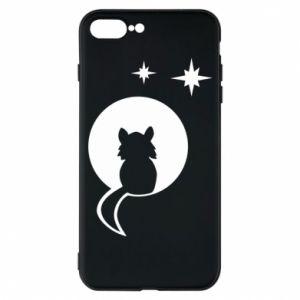 Etui do iPhone 7 Plus Kot siedzi na księżycu