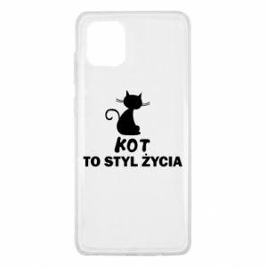 Etui na Samsung Note 10 Lite Kot to styl życia