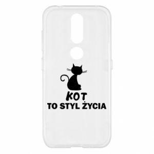 Etui na Nokia 4.2 Kot to styl życia
