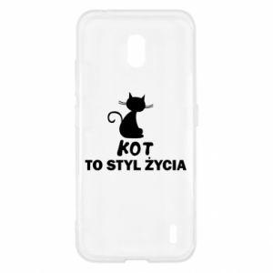Etui na Nokia 2.2 Kot to styl życia