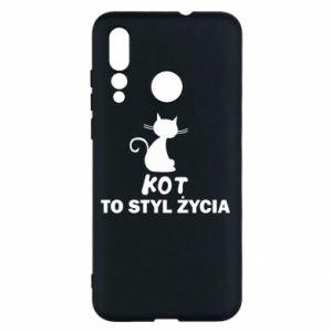 Etui na Huawei Nova 4 Kot to styl życia