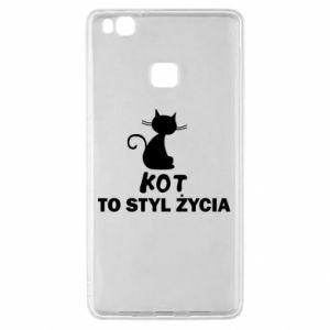 Etui na Huawei P9 Lite Kot to styl życia