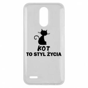 Etui na Lg K10 2017 Kot to styl życia