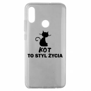 Etui na Huawei Honor 10 Lite Kot to styl życia