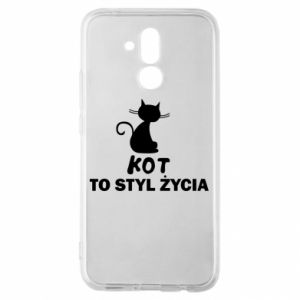 Etui na Huawei Mate 20 Lite Kot to styl życia