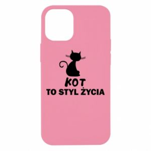 Etui na iPhone 12 Mini Kot to styl życia