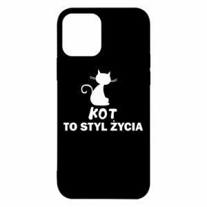 Etui na iPhone 12/12 Pro Kot to styl życia