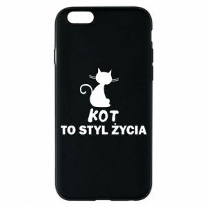 Etui na iPhone 6/6S Kot to styl życia