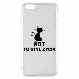 Etui na iPhone 6 Plus/6S Plus Kot to styl życia