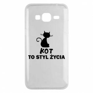 Etui na Samsung J3 2016 Kot to styl życia