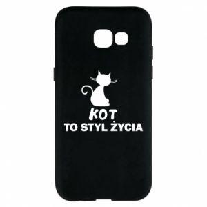 Etui na Samsung A5 2017 Kot to styl życia