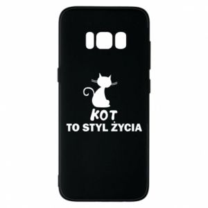 Etui na Samsung S8 Kot to styl życia