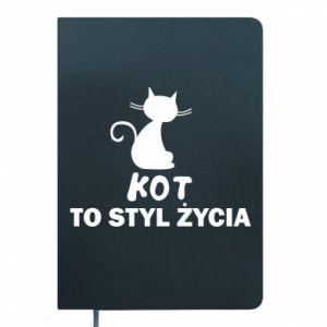 Notes Kot to styl życia