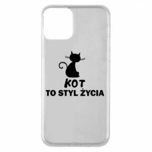 Etui na iPhone 11 Kot to styl życia