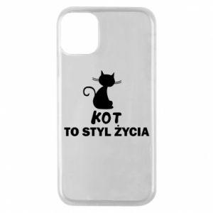 Etui na iPhone 11 Pro Kot to styl życia