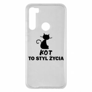 Xiaomi Redmi Note 8 Case A cat is a lifestyle