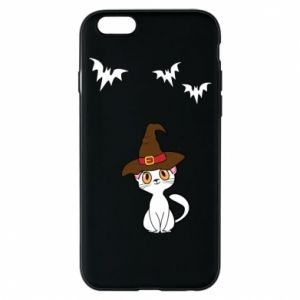 Phone case for iPhone 6/6S Cat in a hat - PrintSalon
