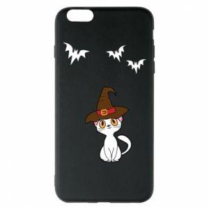 Phone case for iPhone 6 Plus/6S Plus Cat in a hat - PrintSalon