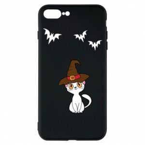 Phone case for iPhone 7 Plus Cat in a hat - PrintSalon