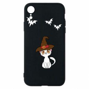 Phone case for iPhone XR Cat in a hat - PrintSalon