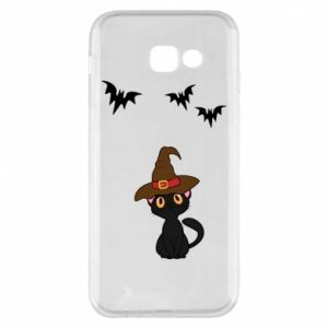 Phone case for Samsung A5 2017 Cat in a hat - PrintSalon