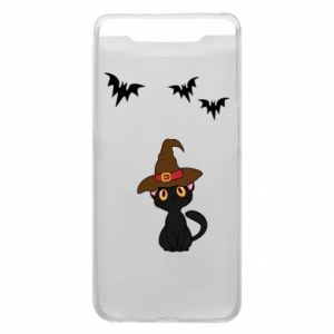 Phone case for Samsung A80 Cat in a hat - PrintSalon