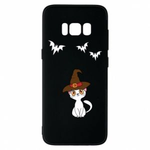 Phone case for Samsung S8 Cat in a hat - PrintSalon