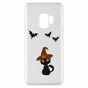 Phone case for Samsung S9 Cat in a hat - PrintSalon