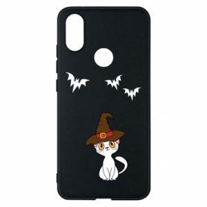 Phone case for Xiaomi Mi A2 Cat in a hat - PrintSalon