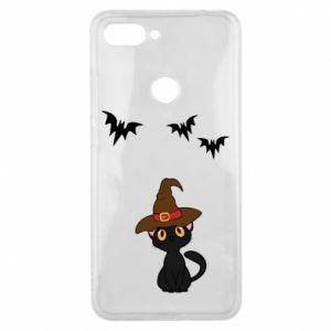 Phone case for Xiaomi Mi8 Lite Cat in a hat - PrintSalon