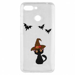 Phone case for Xiaomi Redmi 6 Cat in a hat - PrintSalon