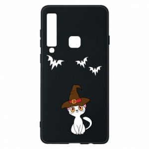 Phone case for Samsung A9 2018 Cat in a hat - PrintSalon