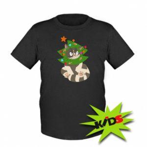 Dziecięcy T-shirt Kot - PrintSalon