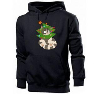 Men's hoodie Cat