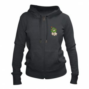 Women's zip up hoodies Cat