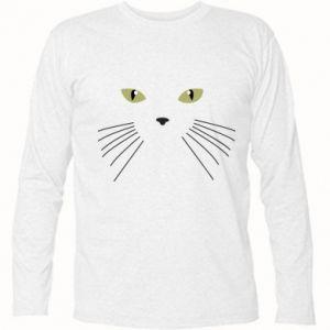 Koszulka z długim rękawem Mordka koteka