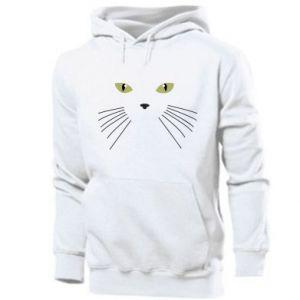 Men's hoodie Muzzle Cat