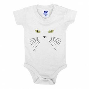 Baby bodysuit Muzzle Cat