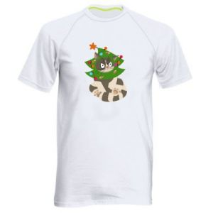 Men's sports t-shirt Cat