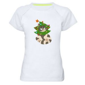 Women's sports t-shirt Cat