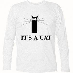 Koszulka z długim rękawem It's a cat