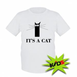 Kids T-shirt It's a cat
