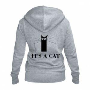 Damska bluza na zamek It's a cat