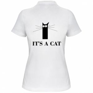 Women's Polo shirt It's a cat