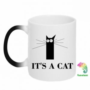 Magic mugs It's a cat