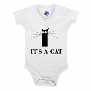 Baby bodysuit It's a cat